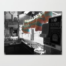 Coney Island Candy Store Cotton Candy Canvas Print