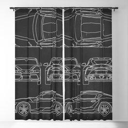 Supra Mk 5 Blackout Curtain