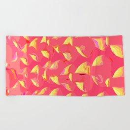 Illusion pink yoga mats/ yoga room Beach Towel