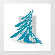 3D GRAFFITI - SKOPE Canvas Print