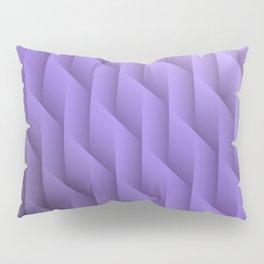 Gradient Purple Diamonds Geometric Shapes Pillow Sham