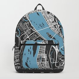 HARRISBURG Map - Pennsylvania | Black + Colors, Review My Collections Backpack