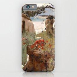 Pastoral - Rupert Charles Wulsten Bunny iPhone Case