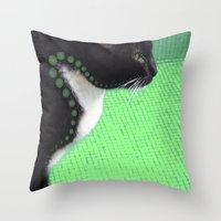 law Throw Pillows featuring Proximity Law by Roprats.