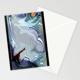 Frisbee Stationery Cards