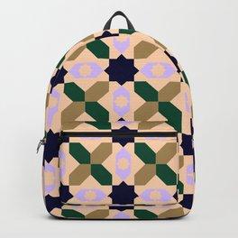 Geometrical Pattern Design Backpack
