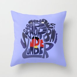 cave of wonders aladdin Throw Pillow