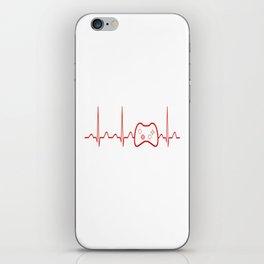 Game Heartbeat iPhone Skin