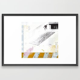 Oh, what a grind! Framed Art Print