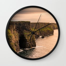 Cliffs Of Moher Wall Clock
