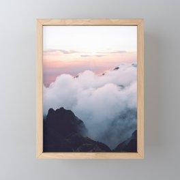 Pink wonder Framed Mini Art Print