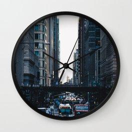 West on Washington Wall Clock