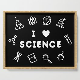 love science Serving Tray