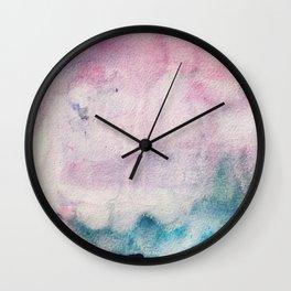 Watercolour No.1 Wall Clock