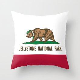 Jellystone National Park  Throw Pillow