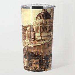World famous Three Graces (Digital painting) Travel Mug