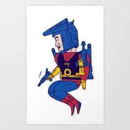 Buck Rogers Art Print