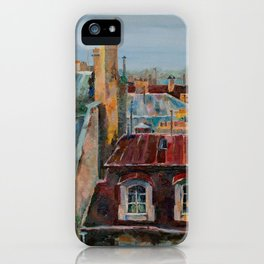 Roofs of Prague iPhone Case