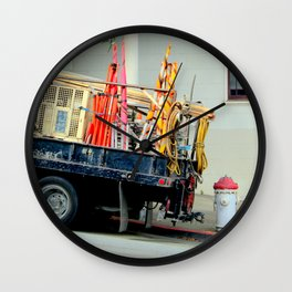 No Parking, Red Zone Wall Clock