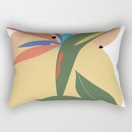 Strelitzia Deconstructed Rectangular Pillow