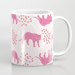 pink and red leopards Coffee Mug