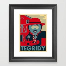Tegridy Framed Art Print