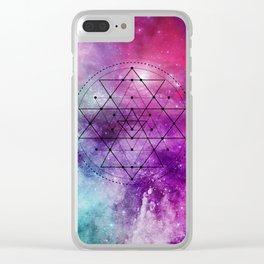 Shri Yantra Clear iPhone Case