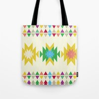 folk Tote Bags featuring Folk by MihaMiha