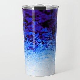 Indigo Blue Crystal Ombre Travel Mug