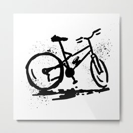 Rest bike Metal Print