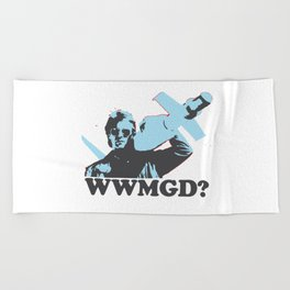 What would MacGyver Do? Beach Towel