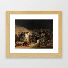 The Third of May by Francisco Goya Framed Art Print