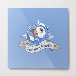 Gulliver's Travels Metal Print