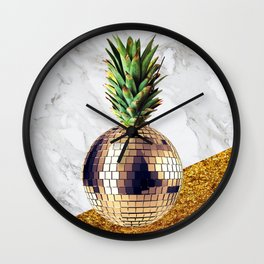 ananas party limited edition Wall Clock