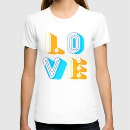 Love [illustration] T-shirt