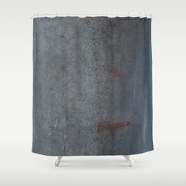 Aged Iron Faucet rustic decor Shower Curtain
