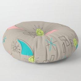 Boomerangs and Starbursts Floor Pillow