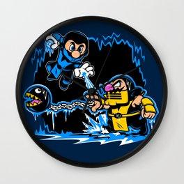 Mario Kombat Wall Clock