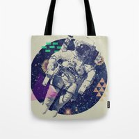 infinity Tote Bags featuring INFINITY by Steven Kline