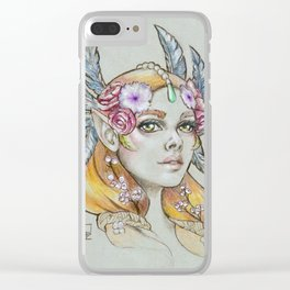 Nessa Clear iPhone Case