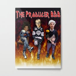 Iron Crew by The Producer BDB Metal Print