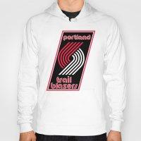nba Hoodies featuring NBA - Trail Blazers by Katieb1013
