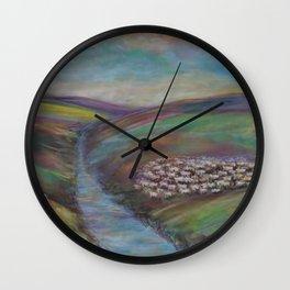 Shepherd's Flock Wall Clock