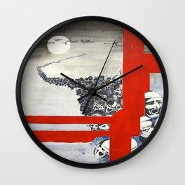 Headstrong Wall Clock