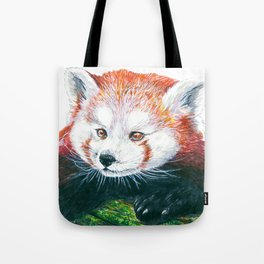 Red panda bear Tote Bag