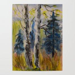 Alder Trees Poster