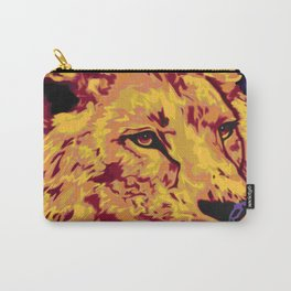 Lion Art Carry-All Pouch