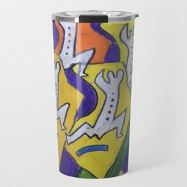 The Running Men Travel Mug