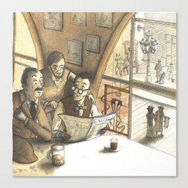 optimism in the early twentieth century Canvas Print