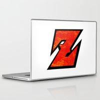 dbz Laptop & iPad Skins featuring DBZ by Bradley Bailey